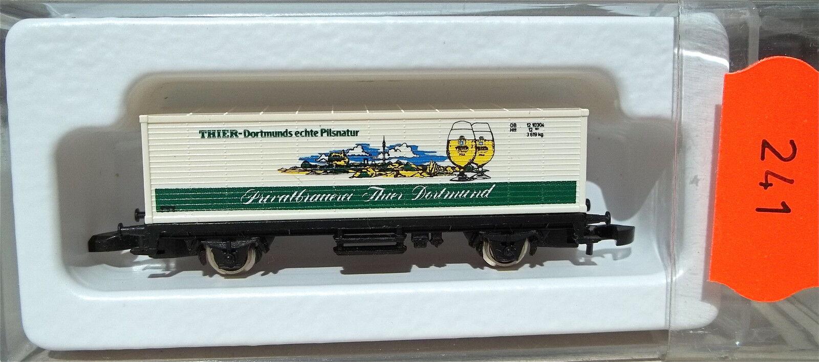 Thier Dortmund, Dortmund, Dortmund, Container Load Car Koll S 87001 Märklin 8615 Z 1 220 241 341fa9