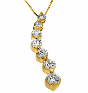 1-50ct-Round-Journey-Pendant-Necklace-14kt-Yellow-Gold