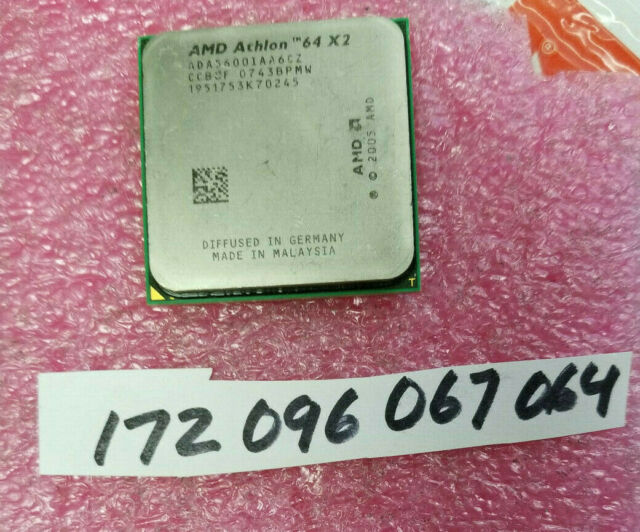 AMD Athlon 64 X2 5600 + Dual-Core 2.8 GHZ ADA5600IAA6CZ Sockel AM2