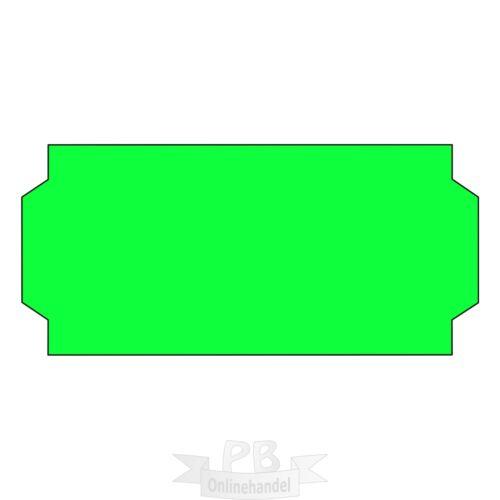 15000 Preisetiketten 26x12mm leuchtgrün für Preisauszeichner Auszeichner 10 R