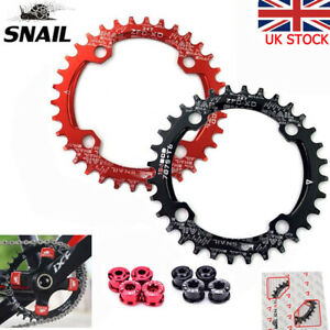 SNAIL-104bcd-32T-34T-36T-38T-40T-42T-MTB-Bike-Chainring-Narrow-Wide-Chaiwheel-UK