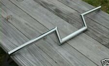 "Jammer 4"" Rise Chrome Z Bars Handlebars Harley Chopper Bobber Custom Springer"