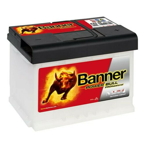 Banner Power Bull P6340 Professional 63Ah PREMIUM Starterbatterie Autobatterie