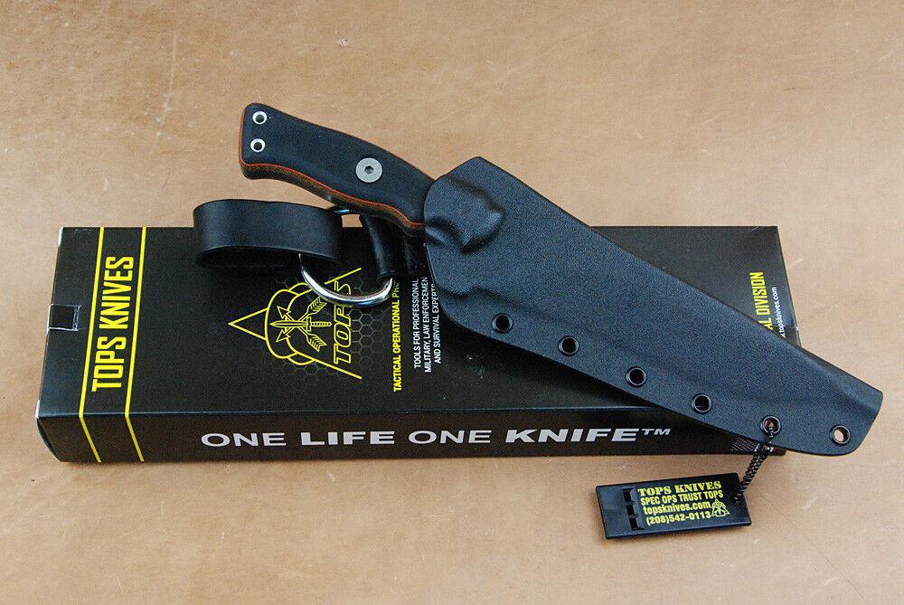 Operatore 7 INSERTO COLTELLO Tops Knives forte wuchtiges COLTELLO Tactical Knife