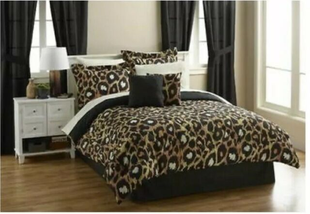 Bedroom Set Leopard Spots 2-pc Queen