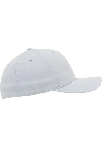 FLEXFIT MELANGE CAP HEATHER GREY NEU hellgrau beige Basecap Baseball Kappe Caps