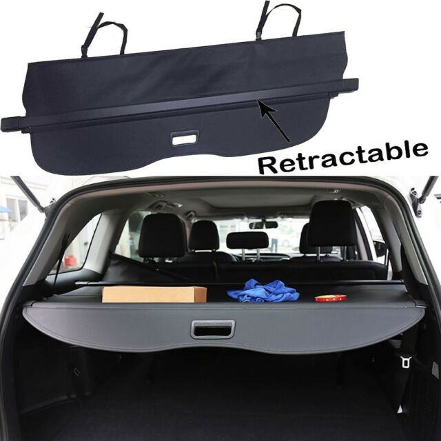 For  Ford Edge Trunk Cargo Cover Black Privacy Shade Shielding