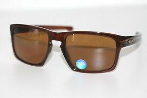 828334c0dab Image is loading Oakley-Sliver-POLARIZED-Sunglasses-OO9262-33-Rootbeer-W-