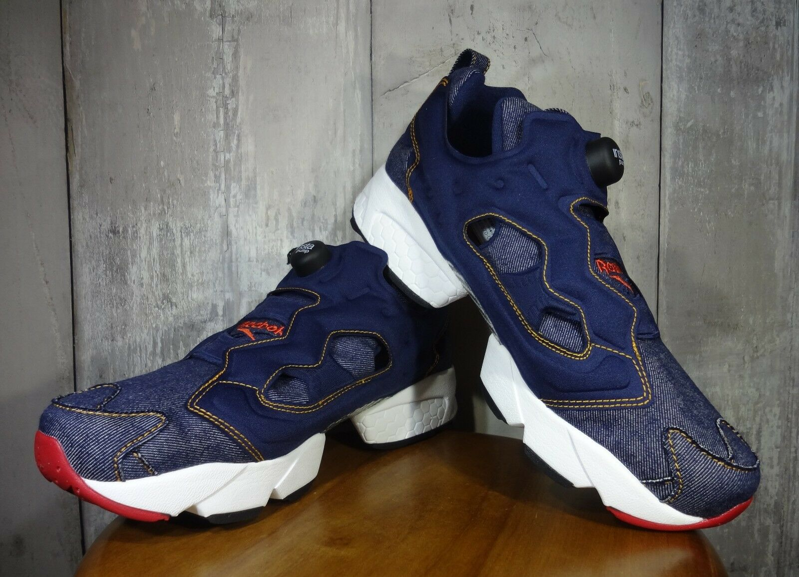 Reebok x zozo town INSTA PUMP FURY 'DENIM' US 9.0 limited edition atmos mita