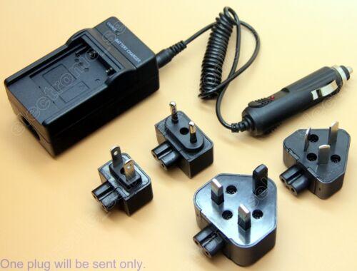 Reino Unido cargador de batería para Mh-24 En-el14 Nikon D3100 D5100 Slr Cámara Ac//dc Au//eu//us