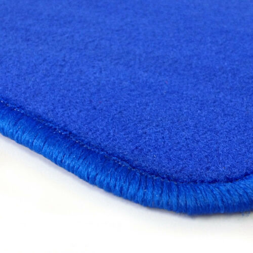 Velours blau Fußmatten passend für AUDI A4 B5 S4 8D 94-01