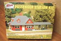 Atlas Model Railroad Passenger Station Ho Scale Building Kit
