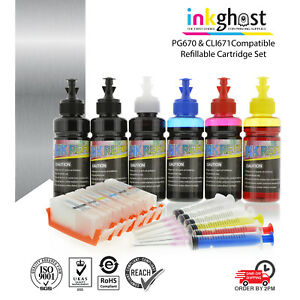 Refillable-ink-cartridge-for-Canon-MG7766-MG7765-MG7760-670-671-updated-chip