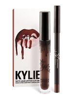 Authentic Kylie Cosmetics True Brown K Lip Kit Matte Liquid Lipstick Liner
