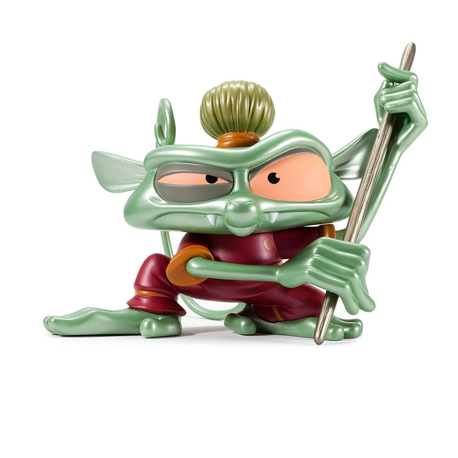 Kidrobot BEST FIENDS 'WU' TARSIER MONKEY 8  VIDEO GAME FIGURE pop art vinyl