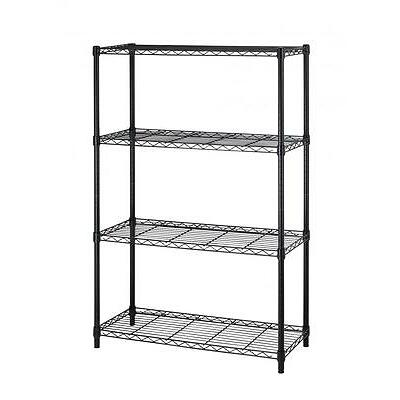 """36""""x14""""x54"""" 4 Tier Layer Shelf Adjustable Steel Wire Metal Shelving Rack T54"""