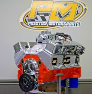 Details about 383 Small Block Chevy Stroker Crate Engine 400HP/470TQ  COMPLETE TURNKEY