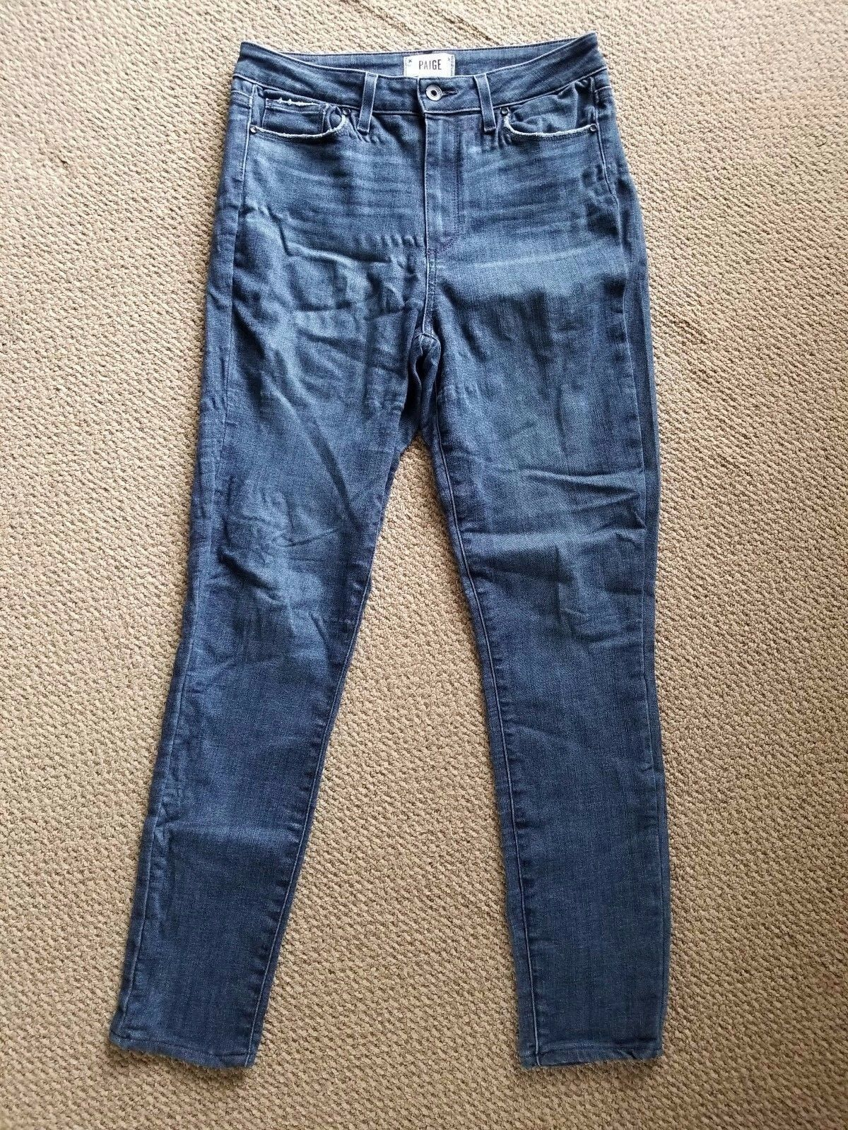 Paige Margot Ultra Skinny High Rise Stretch Jeans in Maley Size 29 x 29