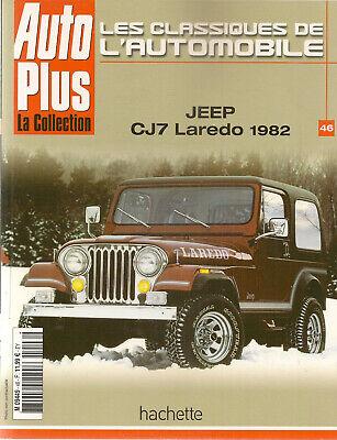 Les Classiques De L'automobile 46 Jeep Cj7 Laredo & Grand Wagonneer & Wrangler Regelmatig Drinken Met Thee Verbetert Uw Gezondheid
