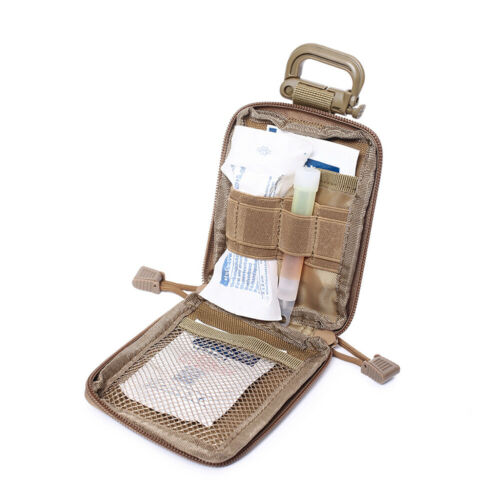 Outdoor Hunting Molle EDC Pouch Range Bag Vest Equipment Medical Organizer