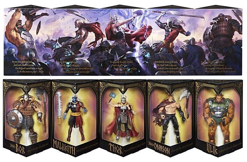 para mayoristas San Diego Diego Diego comic-con Exclusivo Marvel Legends Thor Battle For Asgard Figura de Acción 5Pcs  SIN CAJA   compra en línea hoy