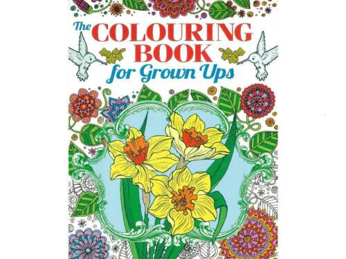 The Colouring Book for Grown Ups 55 beautiful images NEW Adult Colouring Book