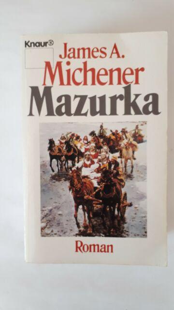 Mazurka von James A. Michener Taschenbuch Knaur 1987