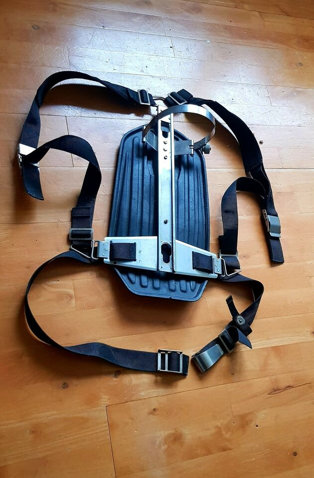 Harness rygskjold AGA Interspiro Divator mm II