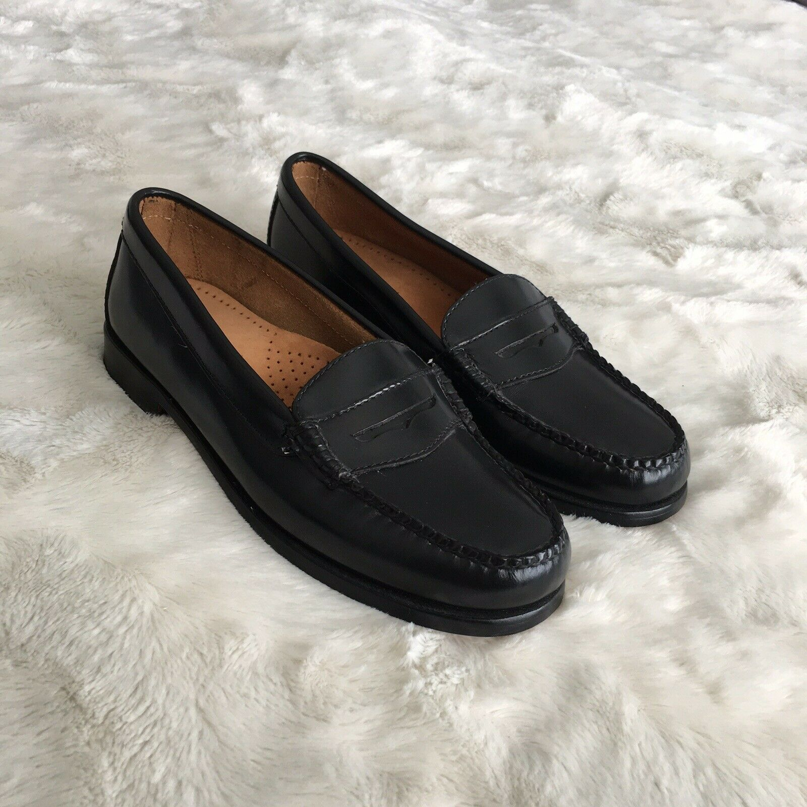 Womens Leather Loafers Loafers Loafers Size 7 1e0ae1
