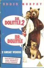 Doctor Dolittle 1 & 2 Box Set -  Eddie Murphy - VHS Video Tape