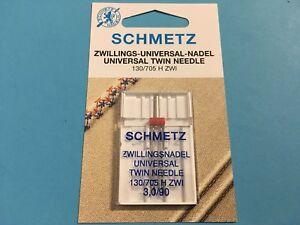 Schmetz Zwillingnadel  System 130 / 705  3,0 / 90 Flachkolben Nadel
