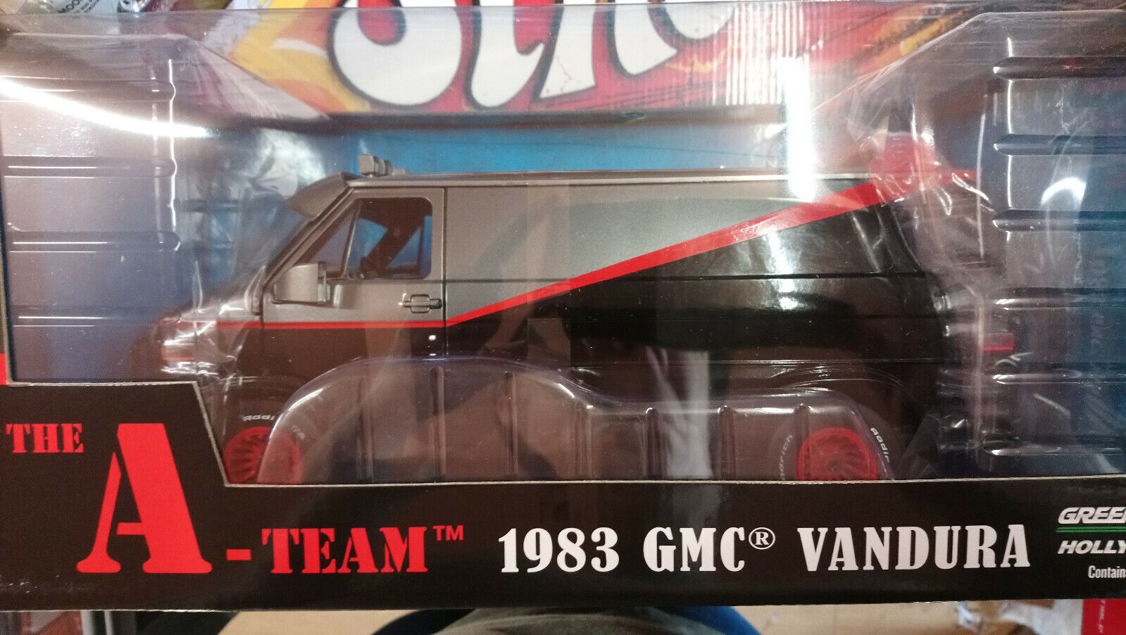 vertlumière hollybois the a team 1983  gmc vandura 1 18 limited edition  les promotions
