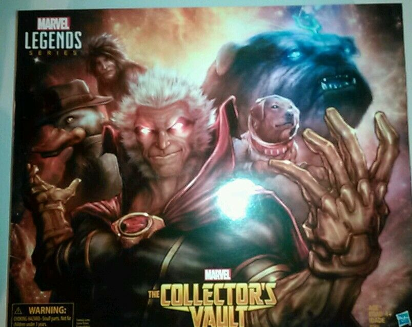 SDCC 2016 Exclusive Hasbro Marvel Legends Series THE COLLECTOR's VAULT Box Set