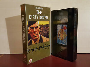 The-Dirty-Dozen-Lee-Harvin-PAL-VHS-Video-Tape-NEW-SEALED-H27