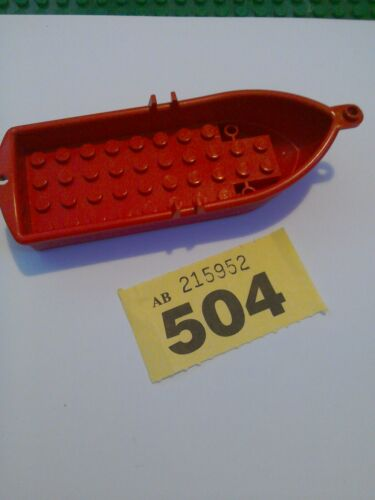 Lego 2551 rowing boat Pirates red city creator spare parts FREE UK POSTAGE #504