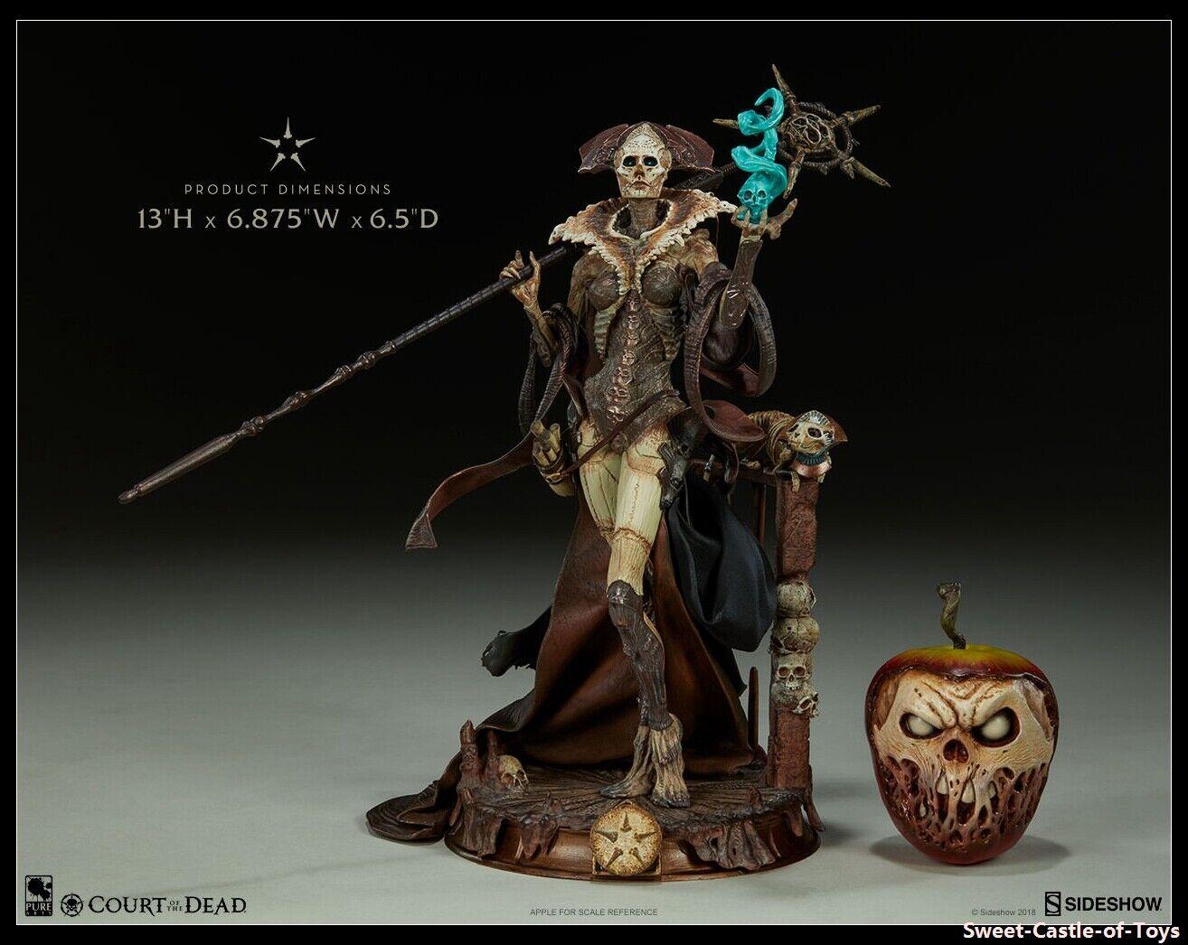 Sideshow 13  Cour de la mort-xiall la grande osteomancer's Vision PVC Figure