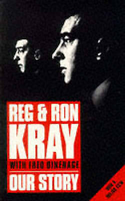 Our Story by Reg and Ron Kray (The Krays) New Paperback Book