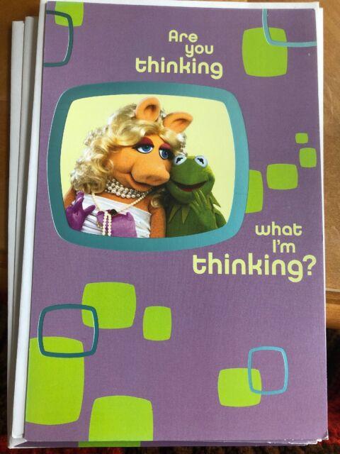 Muppets Kermit Miss Piggy Birthday Card American Greetings