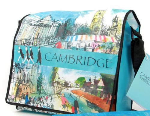 The Cambridge bag; Unique fun /'Bag for life/' made from recycled plastic bottles