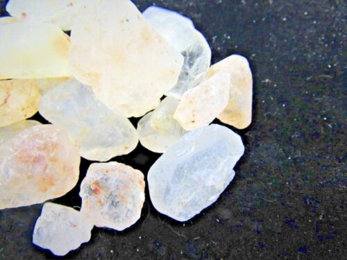 1//2 lb Lot Rough Yellow Topaz Zentron™ Crystals