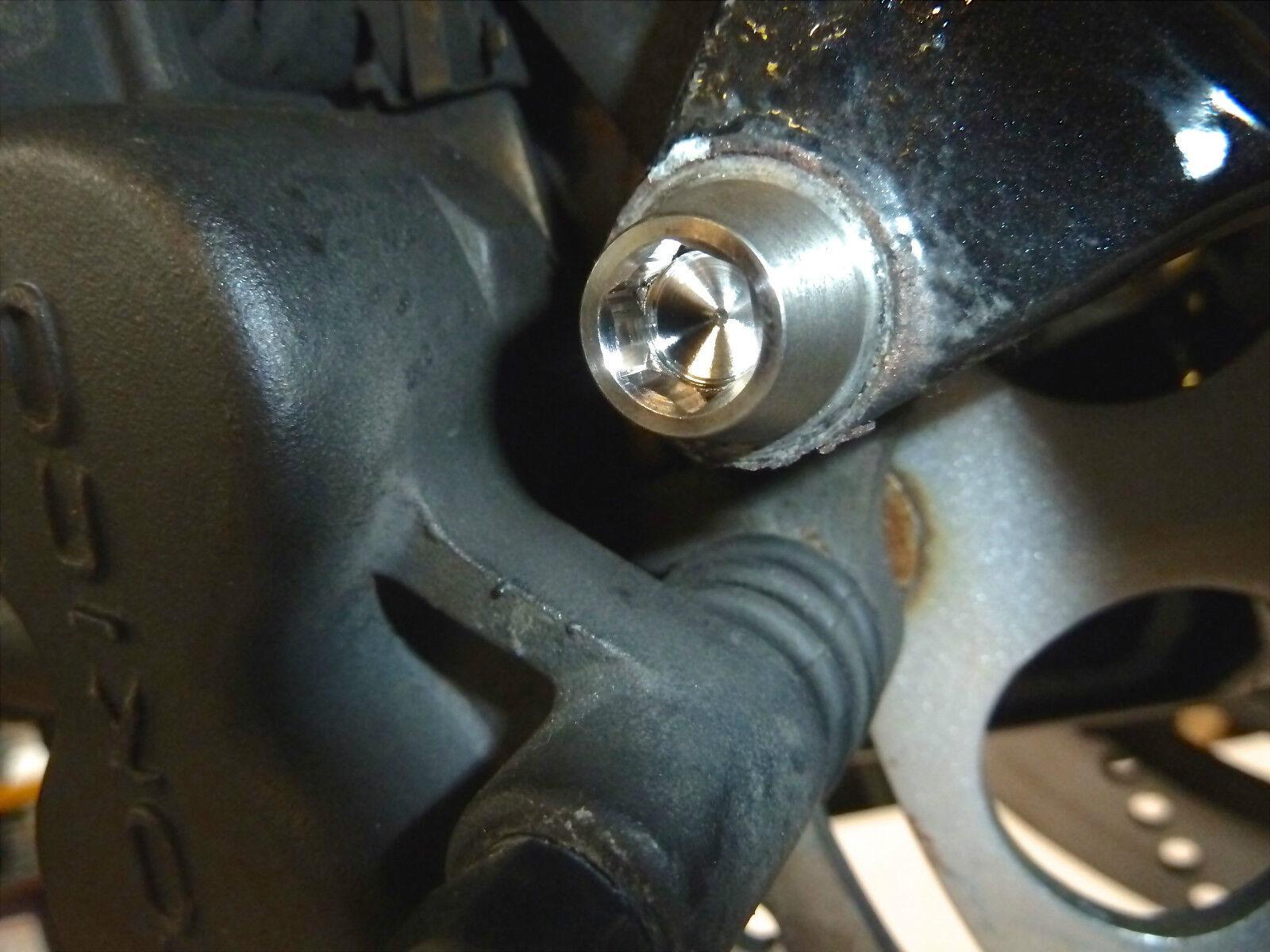 Suzuki Suzuki Suzuki DL650A V-Strom 2011-on Poi Titanio Pinza Freno Anteriore Bulloni di | Ogni articolo descritto è disponibile  | Facile da usare  | prendere in considerazione  c9e2ee