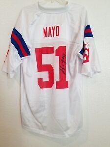 Autographed Jerod Mayo Jersey   eBay