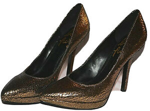 nine west love fury gold sparkly black pointy toe high