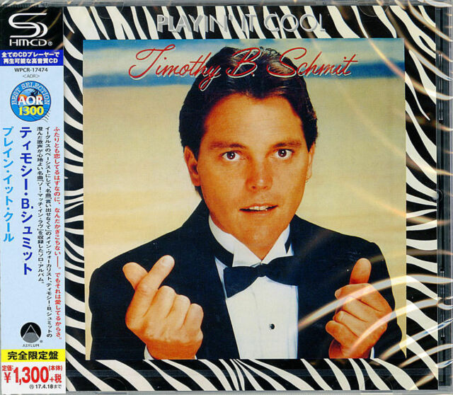 TIMOTHY B.SCHMIT-PLAYIN' IT COOL-JAPAN SHM-CD C41