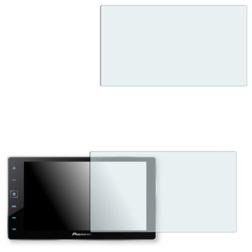 AppRadio 4 2x Golebo Crystal Displayfolie Schutz Folie für Pioneer SPH-DA120