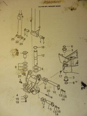 Bolzen Buchsen Dichtung Set Pin Bracket Boom Yanmar Sv17 Minibagger Ada01600 Eine GroßE Auswahl An Farben Und Designs
