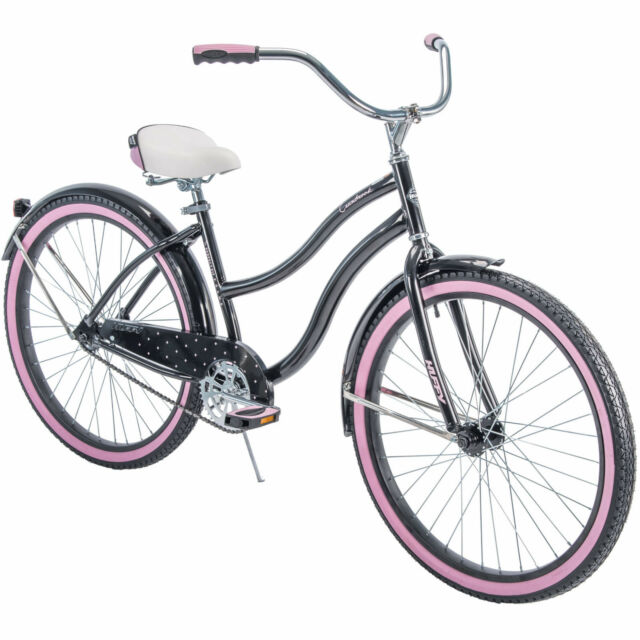 Huffy 26 Cranbrook Women S Cruiser Bike Black Bicycle Durable Outdoor