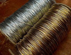 VINTAGE-1-16-034-x30-yds-METALLIC-Stretch-Cording-WRAP-GIFT-BOX-Made-JAPAN-Elastic