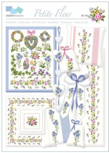 Lindner/'s point de croix-no 53 petite fleur