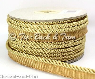 7020 Silky 6mm Flanged Rope Piping Upholstery Insertion Cord - Sold Per Metre